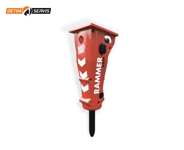 Hydraulické kladivo RAMMER 555E | DETVA servis s.r.o.