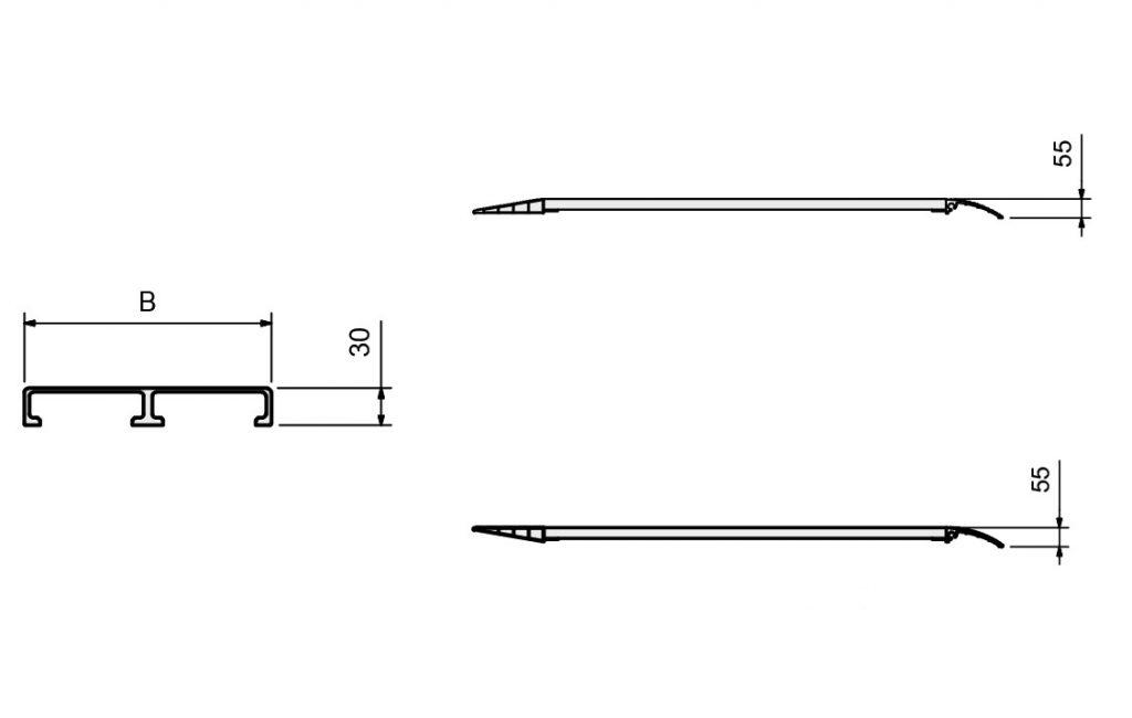 Nájazdová rampa M030B2/B3