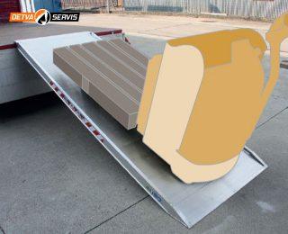 Ľahká nájazdová rampa MPCP