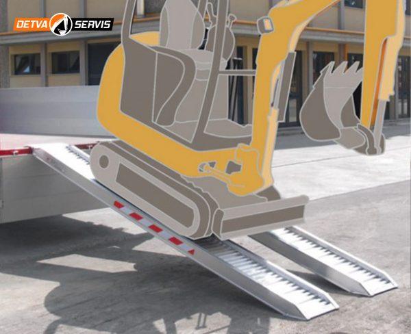 Hliníková nájazdová rampa M075 | DETVA servis s.r.o.