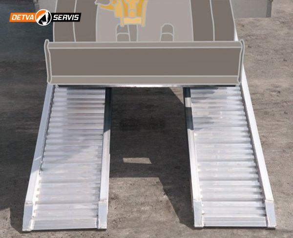 Hliníková nájazdová rampa M080 | DETVA servis s.r.o.