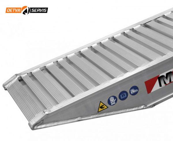 Hliníková nájazdová rampa M150 | DETVA servis s.r.o.