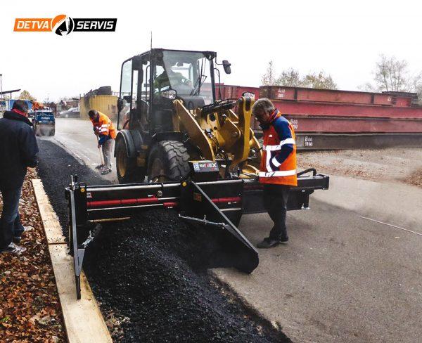 Plávajúci asfaltér SIMEX ST200 | DETVA Servis s.r.o.