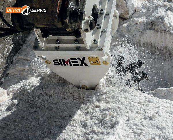 Rotačná fréza SIMEX TF600 | DETVA Servis s.r.o.