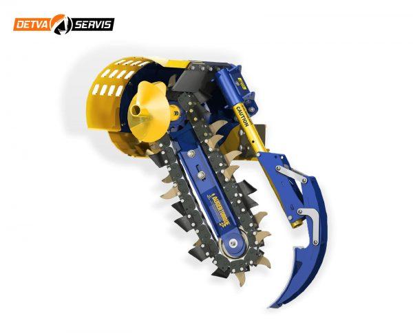 Prídavné zariadenia AUGER TORQUE - Ryhovač MT 600 | DETVA Servis s.r.o,