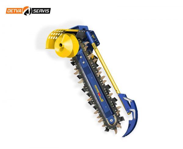 Prídavné zariadenia AUGER TORQUE - Rýhovač XHD 1500 | DETVA Servis s.r.o,