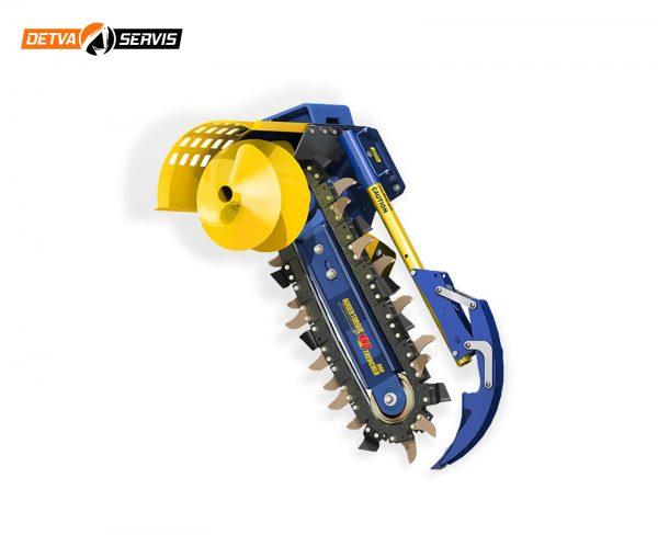 Prídavné zariadenia AUGER TORQUE - Rýhovač XHD 900 | DETVA Servis s.r.o,