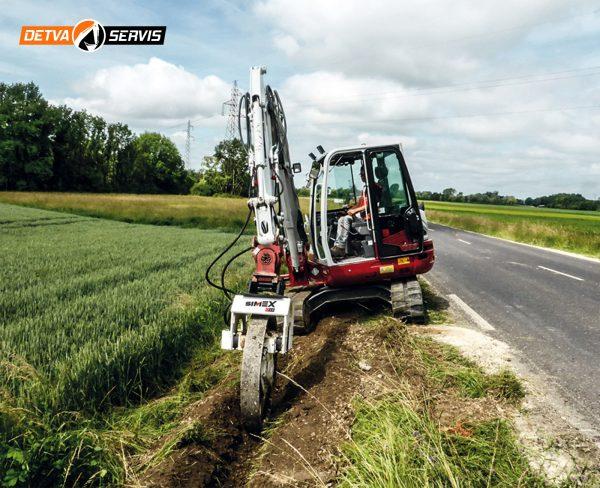 Vibračný kolesový zhutňovač SIMEX CT 2.8 B | DETVA servis s.r.o.