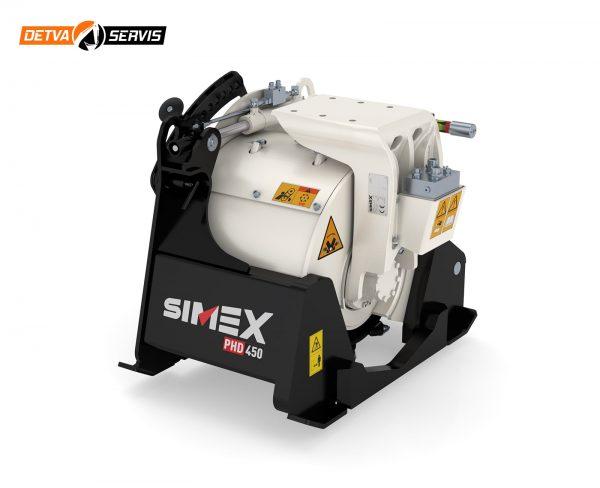 Výkyvný planírovač SIMEX PHD450 | DETVA Servis s.r.o.