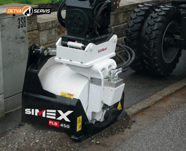 Výkyvný planírovač SIMEX PLB450 | DETVA Servis s.r.o.