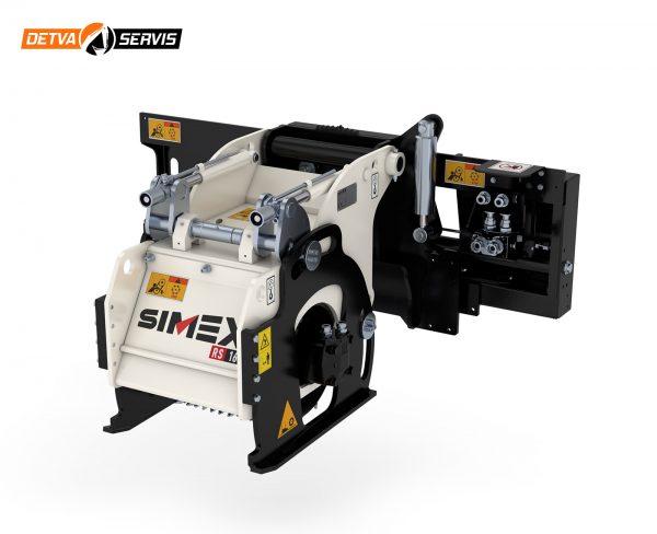 Fréza na asflat SIMEX RS pre šmykom riadené nakladače   DETVA servis s.r.o.